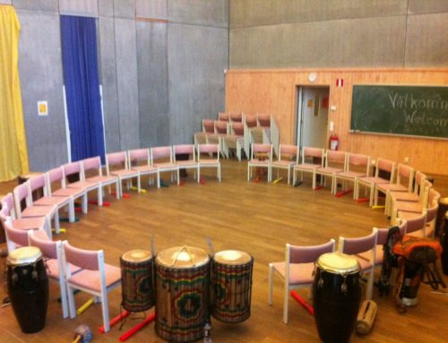Drumming for mindfullness